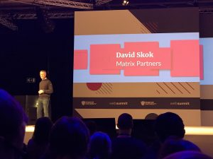 David Skok on the 9 stages for startup growth Web Summit 2018