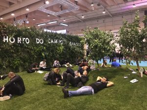 Web Summit 2018 the garden